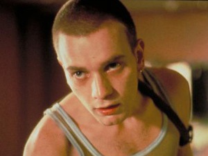 Ewan McGregor in 'Trainspotting'