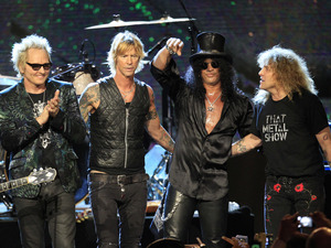 Guns n' Roses, Hall of Fame