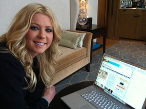 Tara Reid Digital Spy Twitter chat