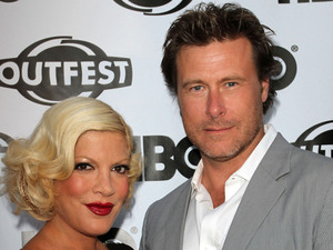 Tori Spelling and husband Dean McDermott The 29th Annual Gay & Lesbian Film Festival Opening Night Gala Screening of 'Gun Hill Road' held at the Orpheum  Theatre Los AngelesMandatory Credit: FayesVision/WENN.com