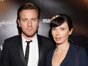 Ewan McGregor, Eve Mavrakis at The Weinstein Company's 2012 Golden Globe Awards After Party. Beverly Hills, California