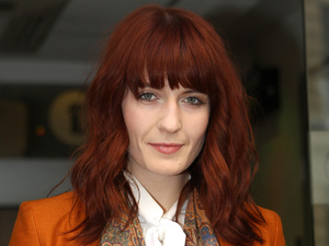 Florence Welch of Florence and the Machine arrives at the BBC Radio 1 studios London