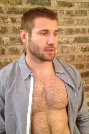 Ben Cohen photoshoot behind-the-scene