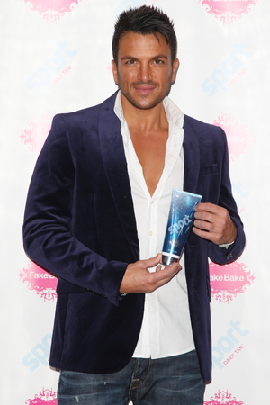 Peter Andre launches new Sport Tan in association with Fake Bake
