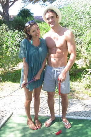 Kelly Brook pictured with her boyfriend Thom Evans on Tumblr