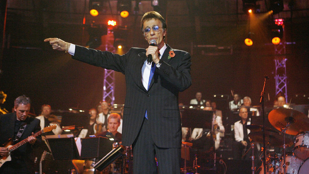 Robin Gibb performs at the BBC Electric Proms 2008