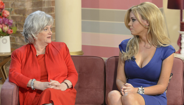 Ann Widdecombe and Maria Fowler on This Morning