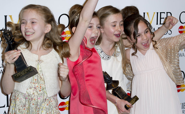 Matilda, Olivier Awards