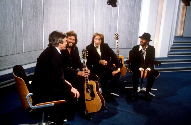 The Bee Gees are interviewed by Michael Parkinson