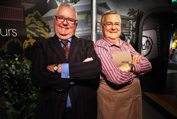 Harold Bishop waxwork unveiled at Madame Tussauds, Sydney, Australia