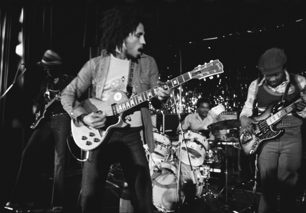 Bob Marley live on stage