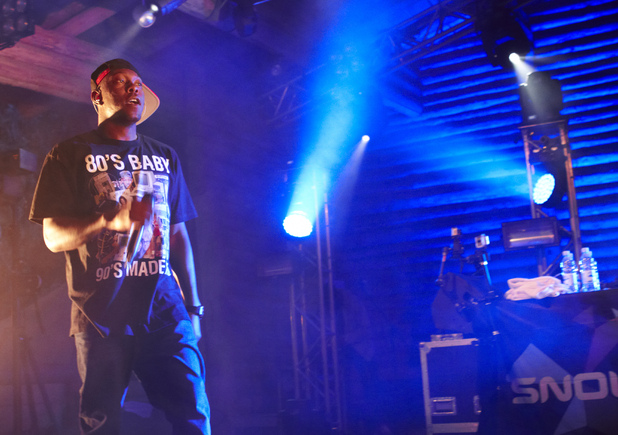 Dizzee Rascal, Eristoff Forest Party