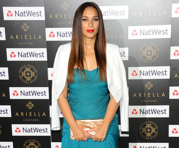 Leona Lewis at the Ariella Couture Catwalk Show, London