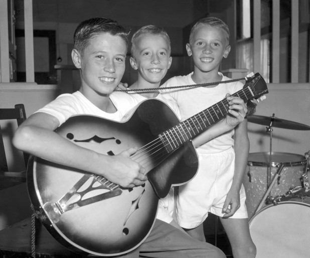 The Bee Gees as children