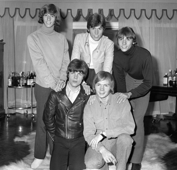 The Bee Gees during the starting days of their career in 1967