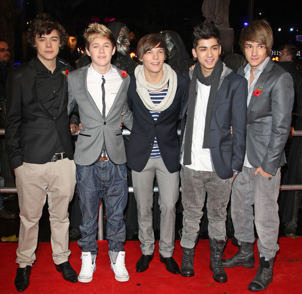 Harry Styles, Niall Horan, Louis Tomlinson, Zain Malik and Liam Payne