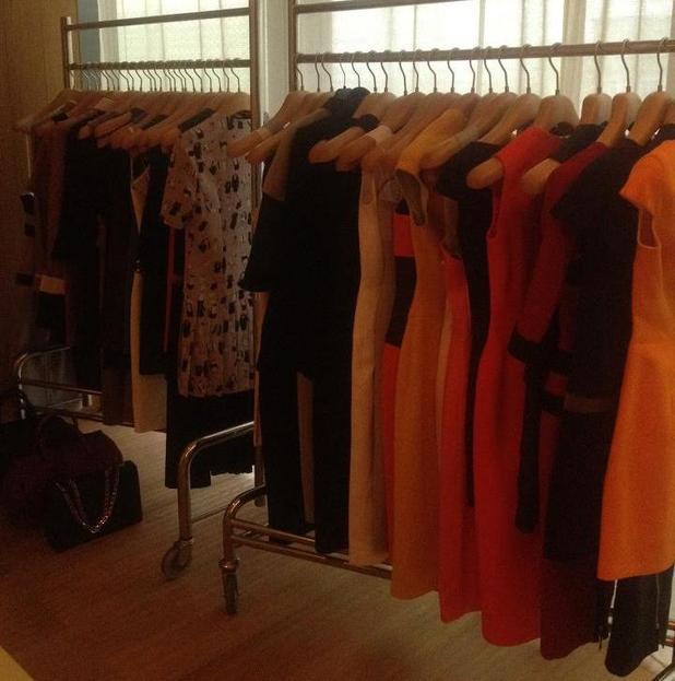 Victoria Beckham's wardrobe