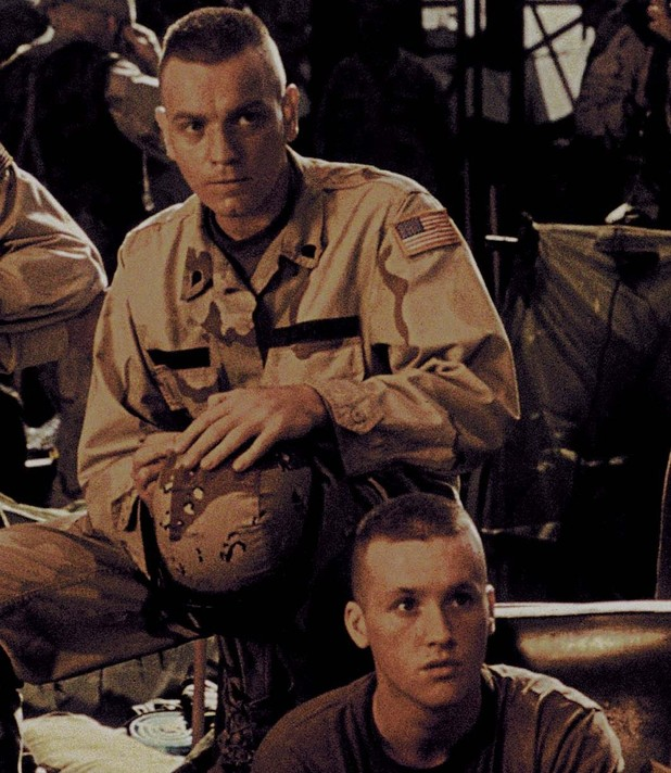 Ewan McGregor in 'Black Hawk Down'