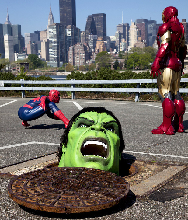 Madame Tussauds unveils Marvel exhibit