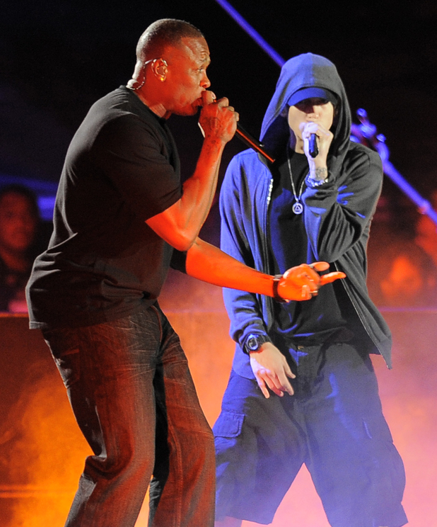 Dr Dre and Eminem