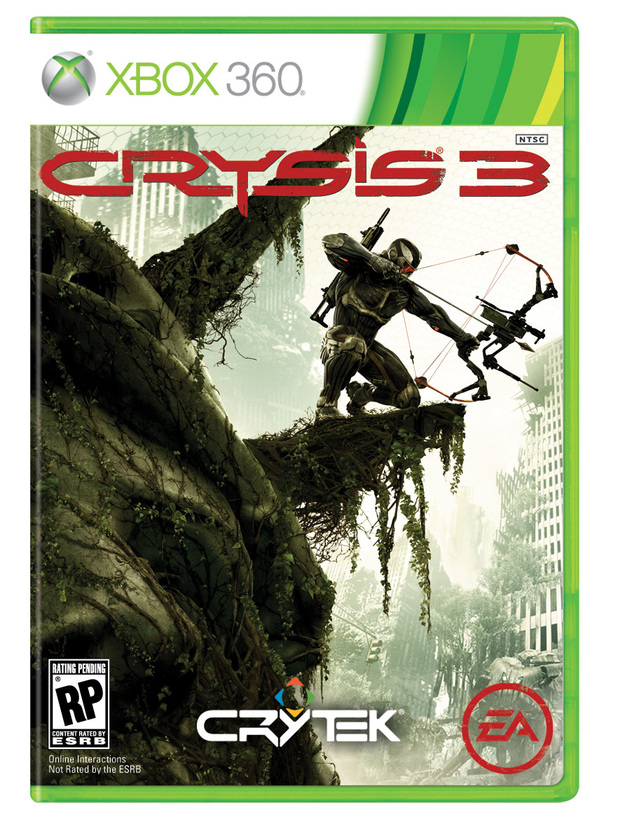 Crysis 3 Xbox 360 packshot