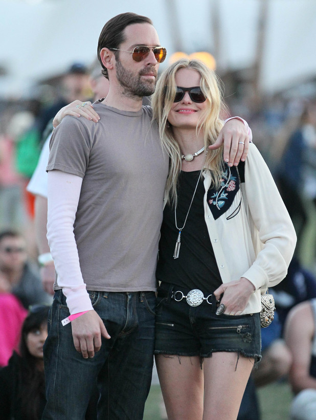 Kate Bosworth and boyfriend Michael Polish