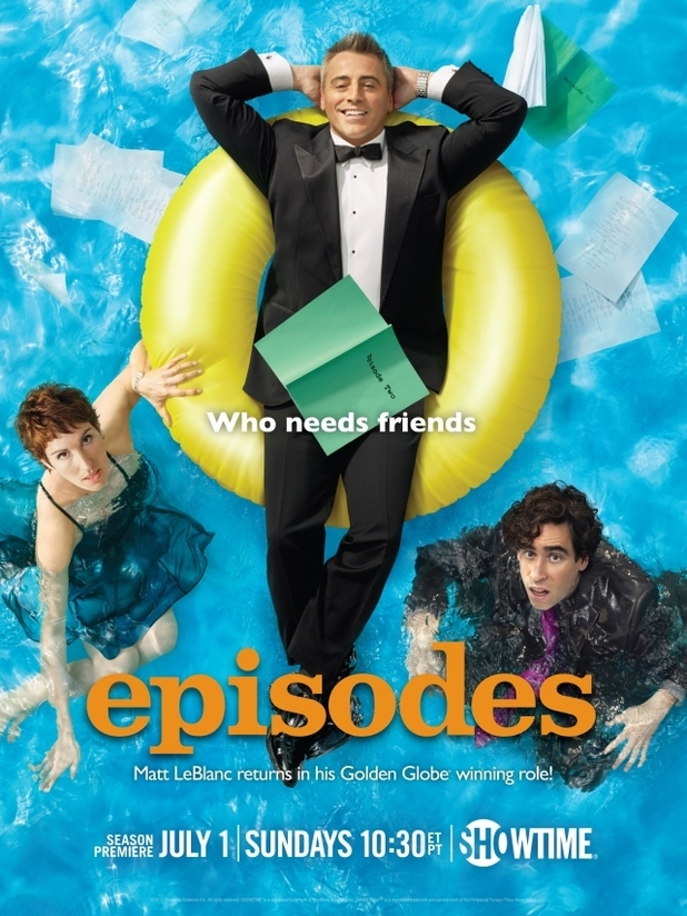'Episodes' season 2 poster