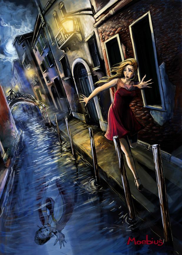'Moebius' concept image from Jane Jensen/Pinkerton Road