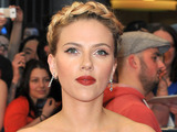 Scarlett Johansson attends the 'Marvel Avengers Assemble' European Premiere held at the Vue Westfield White City