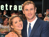Chris Hemsworth and Elsa Pataky  attends the &#39;Marvel Avengers Assemble&#39; European Premiere held at the Vue Westfield White City