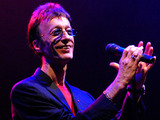 Robin Gibb performs at the Dubai International Jazz Festival in Dubai Media City Amphitheater, Dubai in 2008