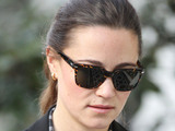 Pippa Middleton walking to work in West London London, England