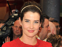 Cobie Smulders attends the 'Marvel Avengers Assemble' European Premiere held at the Vue Westfield White City