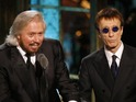 Singers and celebrities react to the news of Robin Gibb's death.