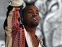 "Kanye West tells a fan with a green laser pointer not to ""f*** with anybody's show""."