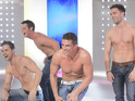 Reid joins fellow Wildboyz stars to perform on This Morning.