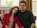 Jason Segel and Emily Blunt request the pleasure of your company...