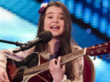 Schoolgirl Lauren covers Soulja Boy's 'Turn My Swag On' to the delight of all four judges.