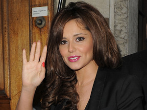 Cheryl Cole at BBC Radio 1 studios