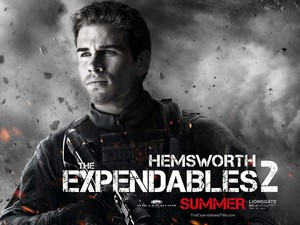 Liam Hemsworth, Expendables 2 character poster