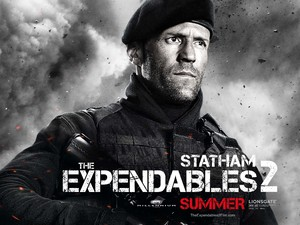 Jason Statham, Expendables 2 character poster