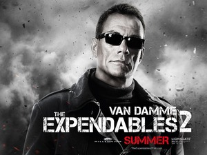 Jean-Claude Van Damme, Expendables 2 character poster