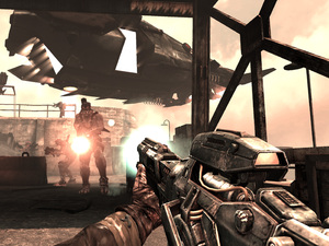 Resistance: Burning Skies' screenshot