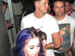 Katy Perry and her new boyfriend Robert Ackroyd