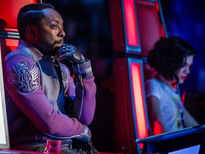 The Voice UK Results Show 1: Will.i.am and Jessie J react to the results.