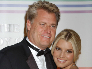 Jessica Simpson, father Joe Simpson