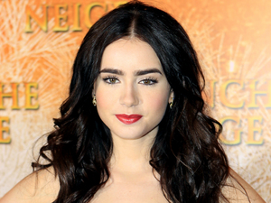 People's 2012 'World's Most Beautiful Woman' - Lily Collins