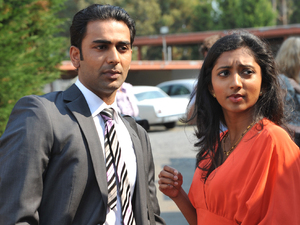 Ajay and Priya watch on as Susan exposes Paul's secret.