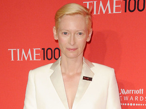 Tilda Swinton The Time 100 Gala held at Frederick P. Rose Hall - Inside Arrivals New York City