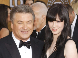 Alec Baldwin and daughter Ireland Baldwin 15th Annual Screen Actors Guild Awards held at the Shrine Exposition Center - Arrivals Los Angeles, California